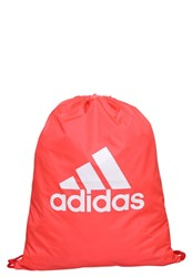 Adidas Performance Per Sports Bag Shock Red Shock Red White