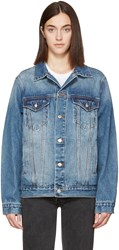 Earnest Sewn Indigo Denim Oversized Cecil Jacket