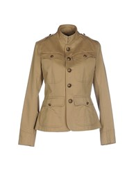 Ralph Lauren Black Label Coats And Jackets Jackets Women Sand