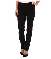 Miraclebody Jeans Janis Pull On Tapered Sueded Sateen Black Women's Casual Pants