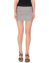 Atos Lombardini Skirts Mini Skirts Women Grey