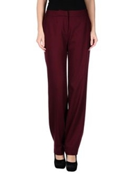 Matthew Williamson Casual Pants Maroon