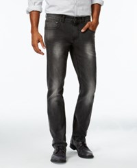 Inc International Concepts Men's Slim Fit Gray Wash Faded Jeans Only At Macy's Grey Wash