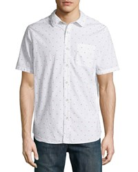 Jachs Pop A Dot Short Sleeve Shirt White