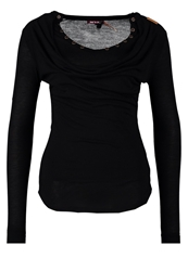 Khujo Sandra Long Sleeved Top Black