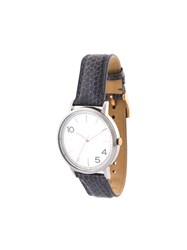 Forty Five Ten X Fossil Stainless Steel Dial Watch Grey