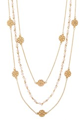 Forever 21 Layered Bead Necklace