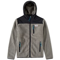 Penfield Carson Hooded Fleece Jacket Grey