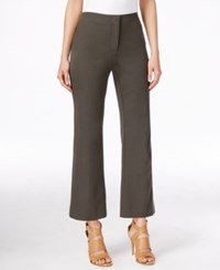 Alfani Straight Leg Cropped Pants Only At Macy's Urban Olive