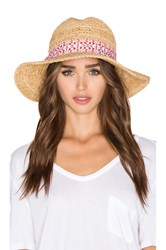 Hat Attack Chunky Crochet Continental Hat Tan