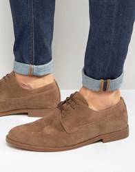 New Look Derby Shoes In Tan Tan