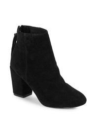 Steve Madden Cynthia Suede Ankle Boots Black