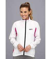 Louis Garneau Modesto Jacket 2 White Candy Purple Women's Jacket