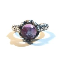 Sweet1985 Magic Crystal Ball Ring Purple