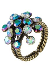 Konplott Magic Fireball Ring Green Purple