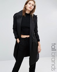 Vero Moda Tall Trench Coat Black