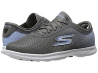 Skechers Go Step Cosmic Charcoal Blue Women's Lace Up Casual Shoes Multi