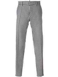 Dsquared2 Houndstooth Trousers Black