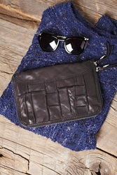 Free People Patched Travel Wallet