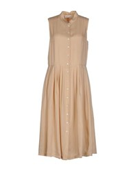 Cacharel Dresses Knee Length Dresses Women Beige