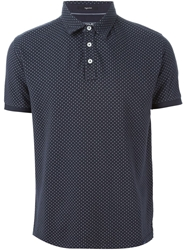 Woolrich Polka Dot Polo Shirt Blue