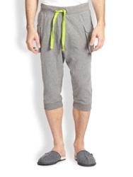 2Xist Cargo Pocket Capri Pants Grey Black Blue Dark Grey