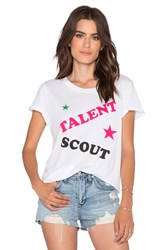 Local Celebrity Talent Scout Schiffer Tee White