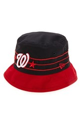 Men's New Era Cap 'Wraparound Washington Nationals' Cotton Bucket Hat