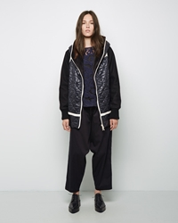 Tsumori Chisato Reversible Hooded Coat Navy