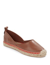 French Connection Umara Espadrille Flats Cognac