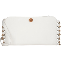 The Row Knotted Convertible Clutch White