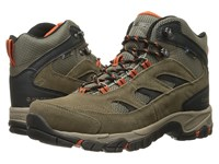 Hi Tec Logan Wp Smokey Brown Taupe Red Rock Men's Hiking Boots Olive
