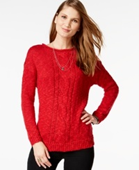 American Living Marled Metallic Sweater Only At Macy's