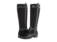 Aerosoles Ride Line Black Fabric Women's Zip Boots