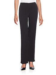 T Tahari Wilma Wide Leg Pants Black