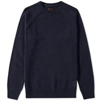 Barbour Staple Crew Neck Blue