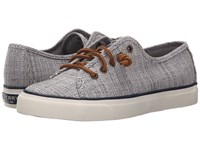 Sperry Seacoast Cross Hatch Navy Ivory Women's Lace Up Casual Shoes Blue