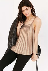 Silence And Noise Silence Noise Get Glam Cami Bronze