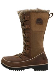 Sorel Tivoli High Ii Premium Winter Boots Autumn Bronze Brown