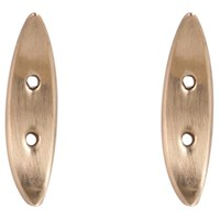 Crusoe Jewelry Riverhead Stud Earrings Bronze