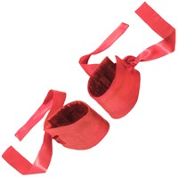 Lelo Etherea Silk Cuffs Red