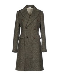 Alain Coats Dark Brown