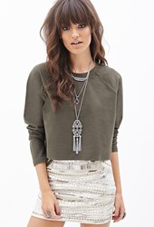 Forever 21 Classic Crew Neck Sweater