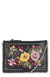 Topshop Oto Embroidered Crossbody