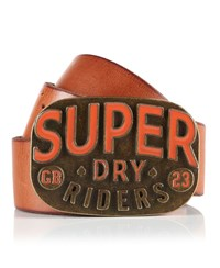 Superdry Dry Riders Belt Tan