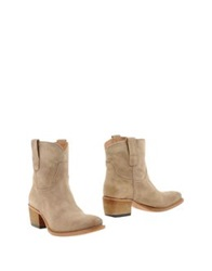 Fru.It Fru. It Ankle Boots Beige
