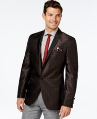 Tallia Big And Tall Vespro Checkered Sport Coat