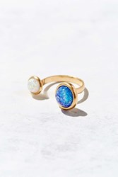 Urban Outfitters Cosmic Love Ring Gold