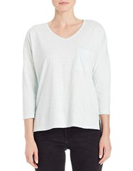 Lord And Taylor Petite Pullover Dolman Tee Moonlight Jade