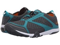 Olukai 'Eleu Trainer Dark Shadow Teal Women's Shoes Gray